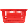 Color Customized Plastic Shopping Basket for Supermarket