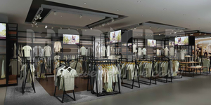USA brand department store project 6000m2 2016-09