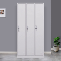 3 Door Metal Storage Locker