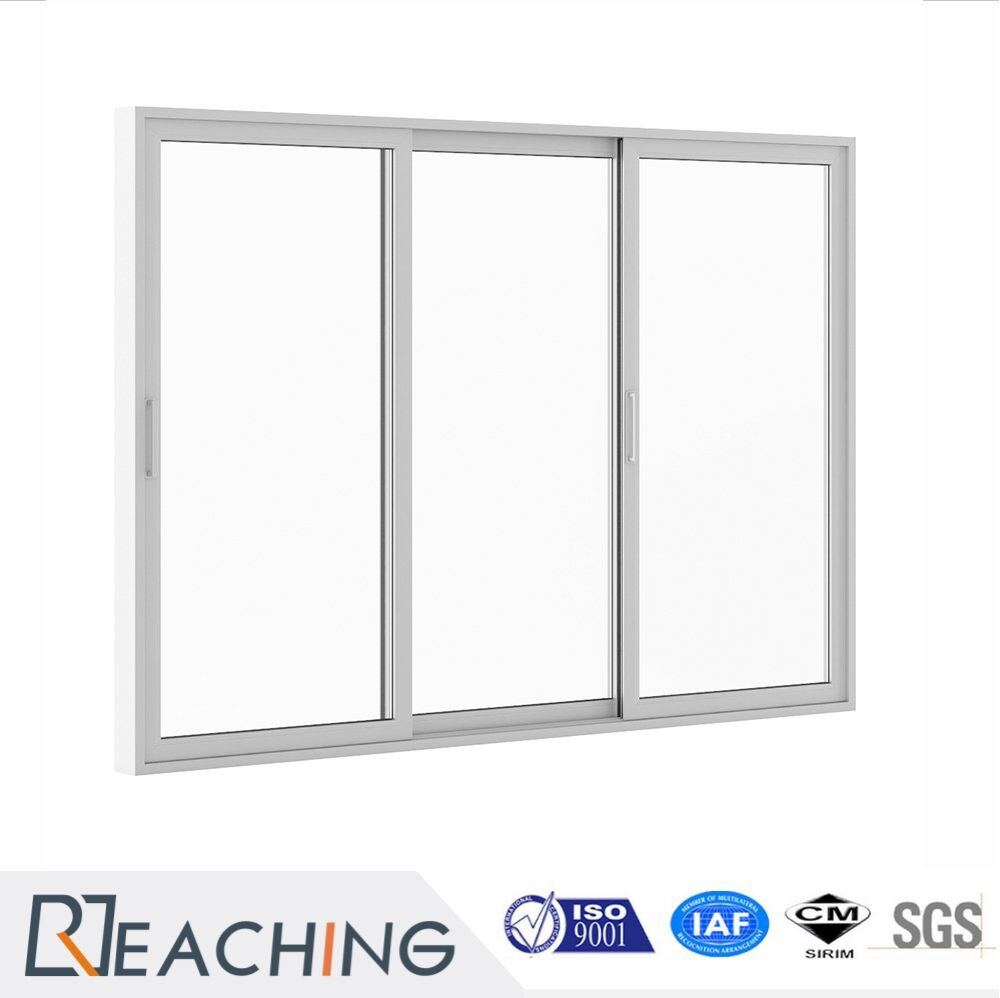 Simplified Design Sliding Door Aluminium Frame with Clear Glass High ...