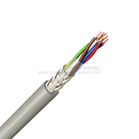 LiYCY(TP) Twisted paired-Flexible screened data Transmission Cable color cores