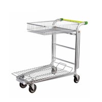 Foldable Warehouse Trolley