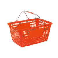 32L Double Handle Shopping Basket B-16