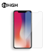 High Clear Phone 9H Tempered Glass Screen Protector For Iphone X