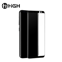Hot bending Tempered Glass for Samsung S8 Screen Protector